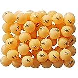 50 Orange 3-star 40mm Table Tennis Ball Advanced Training Ping Pong Balls