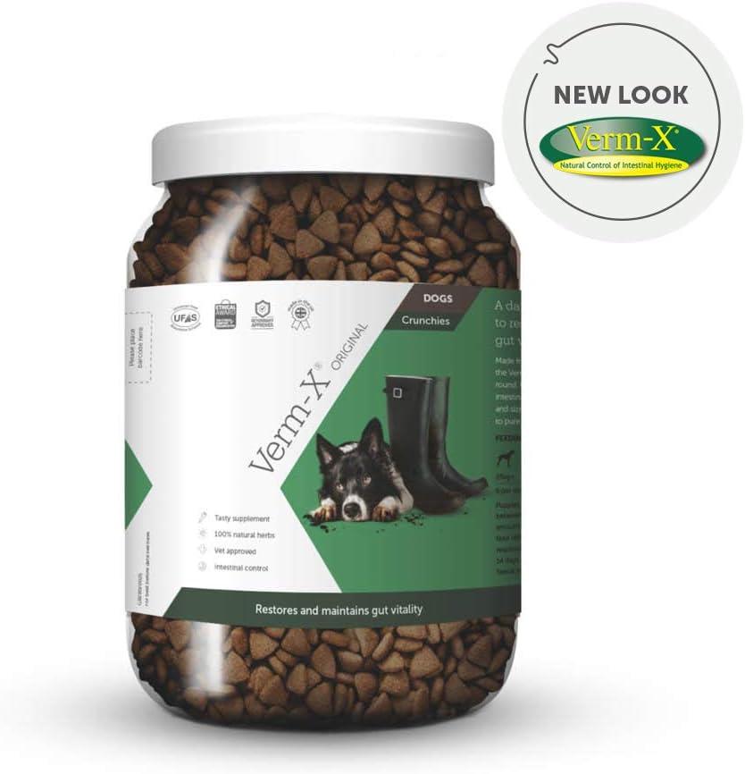 Verm-X Crujientes para Perro, 1,3 kg: Amazon.es: Productos para ...