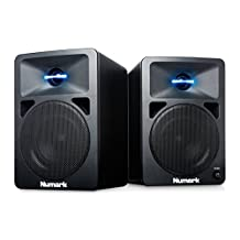 "Numark N-Wave 360   Powered Desktop DJ Monitor Speakers (3"" woofer / 60 watts)"