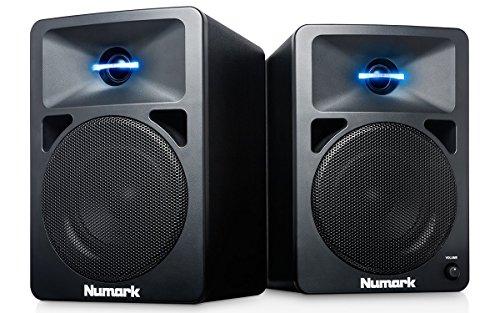 Numark N-Wave 360 | Powered Desktop DJ Monitor Speakers (3