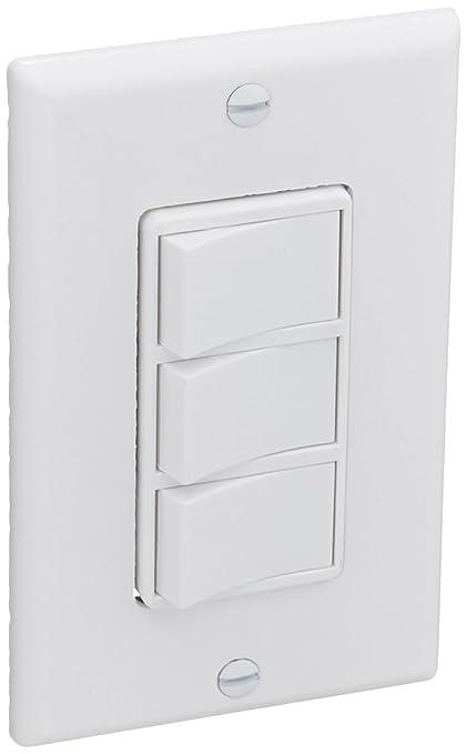 Broan P66W White 3-Function Fan Control Switch - - Amazon.com