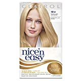 Clairol Nice 'n Easy, 10/87 Natural Ultra Light Blonde, Permanent Hair Color, 1 Kit (Pack of 3)