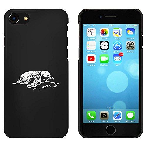 Noir 'Pingouin au Repos' étui / housse pour iPhone 7 (MC00063153)
