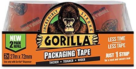 Set of 2 Pieces Gorilla 27 27metre Refill Packs