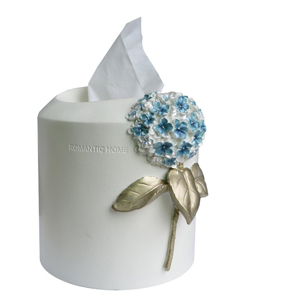 Tissue Box Max Home@ Kreative Europäische Wohnzimmer Papiertaschentasche Cute Einfache Haushalt Vielseitige Pumpenkarton Roll Papierkartusche (farbe : D)