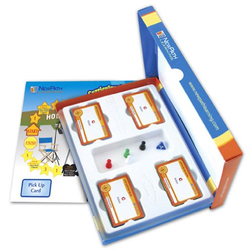 NewPath Learning Mastering Language Arts Curriculum Mastery Game, Grade 4, Study-Group Pack