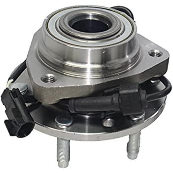 Amazon brand new both front wheel bearing and hub assembly brand new front wheel bearing and hub assembly ascender envoy rainer trailblazer 6 sciox Gallery