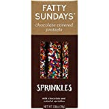 Fatty Sundays Chocolate Covered Pretzels, 1.38oz (Sprinkles)