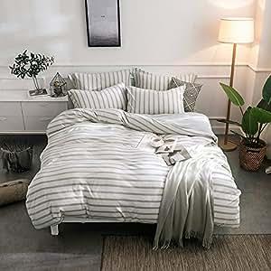 Amazon Com Merryfeel Cotton Duvet Cover Set 100 Cotton