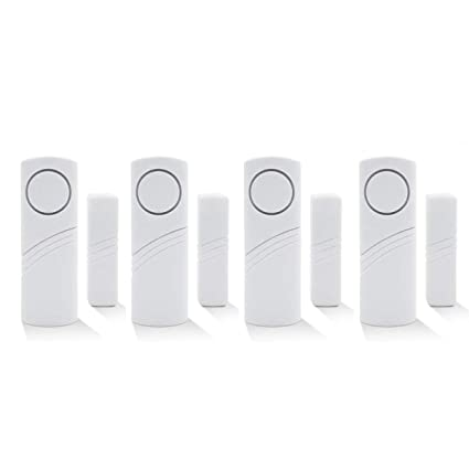 Wireless Home Security Alarm System DIY Kit - Magnetic Sensor - Guardian Protector - Window Glass