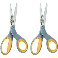 """2-Pack Westcott 8"""" Straight Titanium Bonded Scissors"""