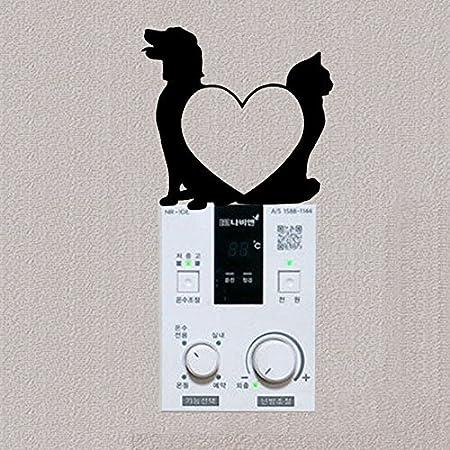 YZDY Perro y Gato Amor Preciosa decoración Vinilo Adhesivo de ...