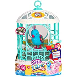 Little Live Pets Bird with Cage - Rainbow Ricki