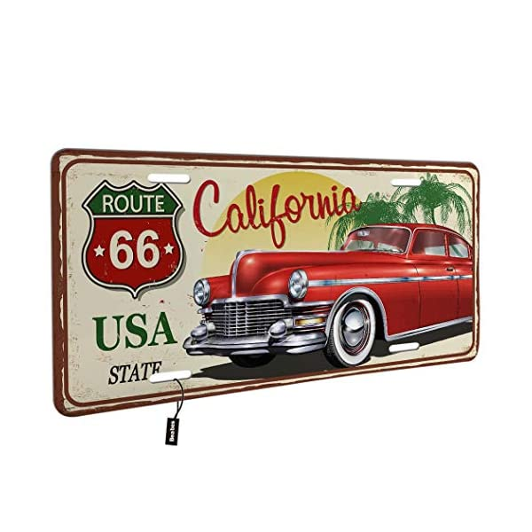 License-Plate-CoverUSA-State-Red