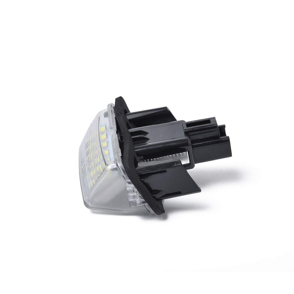 elegantstunning 18-SMD 3/W LED Luce della Targa per Toyota Camry Yaris