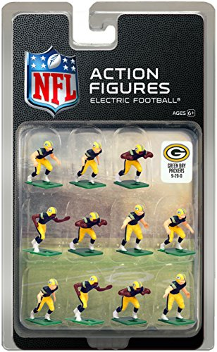 - Green Bay Packers Home Jersey NFL Action Figure Set