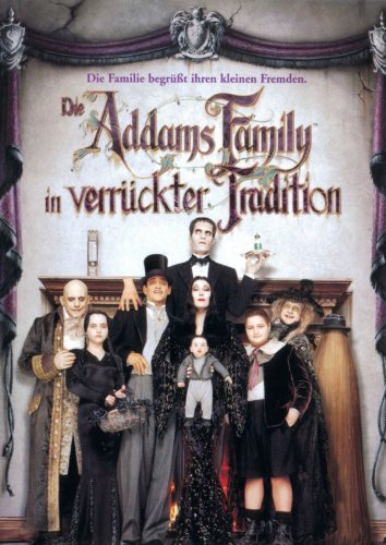 Die Addams Family in verrückter Tradition Film