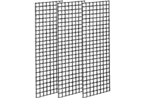 The Competitive Store Gridwall Panels for Retail Display, 2' W x 6' H, 3 Piece by The Competitive Store