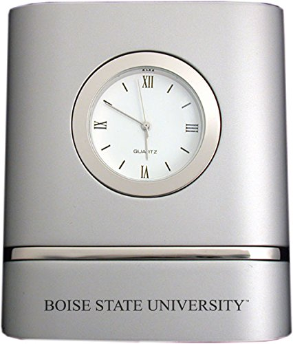 Boise State University- Two-Toned Desk Clock (Boise State Desk Clock)