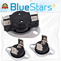 LA-1053 Dryer Thermal Fuse Kit Replacement by Blue Stars - Exact fit for Whirlpool & Maytag dryer