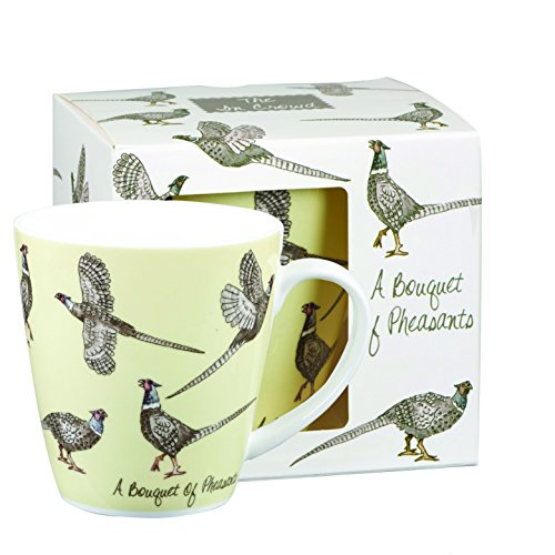 Fine China Garden Bouquet (Churchill A Bouquet Of Pheasants Fine Bone China Coffee Mug)