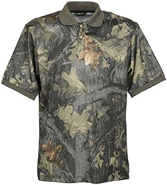 Gamo - Camiseta polo de manga larga para hombre, camuflaje: Amazon ...