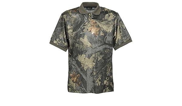 Gamo - Camiseta polo de manga larga para hombre, camuflaje: Amazon.es: Ropa y accesorios