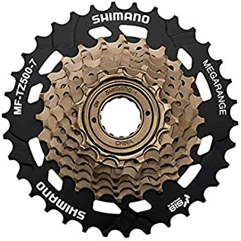 e4c220ab69d Amazon.com : SHIMANO MF-TZ21 14-28 Teeth 7 Speed Freewheel : Bike ...