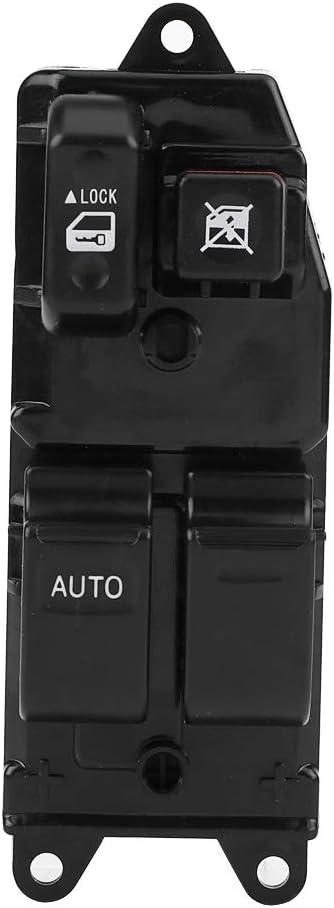 Yctze Interruptor principal de la ventana del coche interruptor de la ventana el/éctrica del conductor izquierdo para Hiace Cruiser 84820-10100
