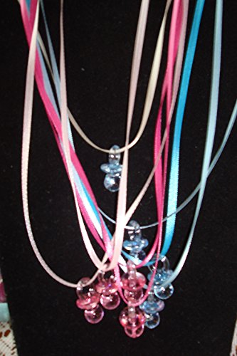 Girl Unisex Shower Pacifier Necklace product image