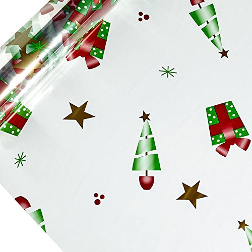Christmas Printed Cellophane 30″ X 100′