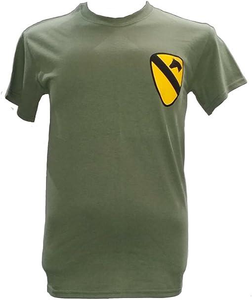 Camiseta militar con tema de la 1a. caballería aérea, guerra de ...