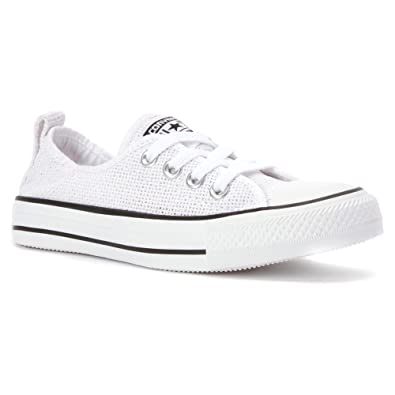 Converse Womens Chuck Taylor All Star Shoreline White Sneaker - 6 6942a43c3