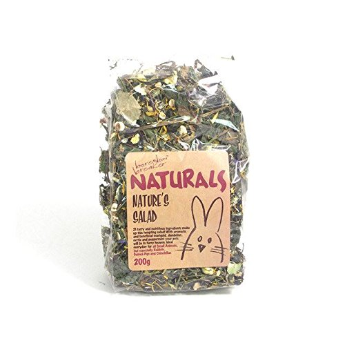 Rosewood Boredom Breaker Natural Treats Natures Salad 200g (PACK OF 4)