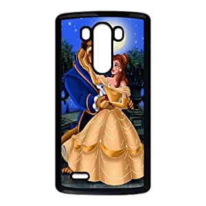 Disneys-Beauty-and-the-Beast LG G3 Cell Phone Case Black F7645518