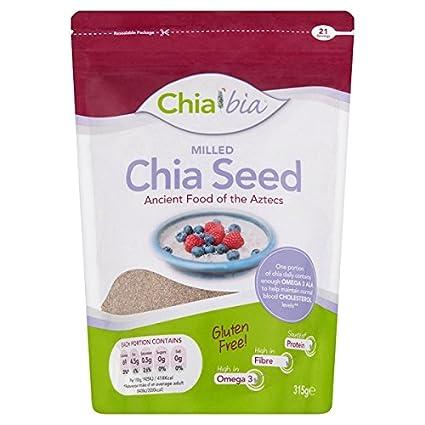 Semillas fresadas de Chia Bia (315 gramos): Amazon.com ...