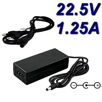 Top cargador® Adaptador alimentación cargador 22.5 V para robot ...