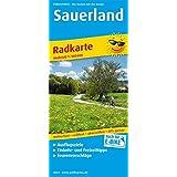 Sauerland: Radkarte mit Ausflugszielen, Einkehr- & Freizeittipps, wetterfest, reissfest, abwischbar, GPS-genau. 1:100000 (Radkarte / RK)
