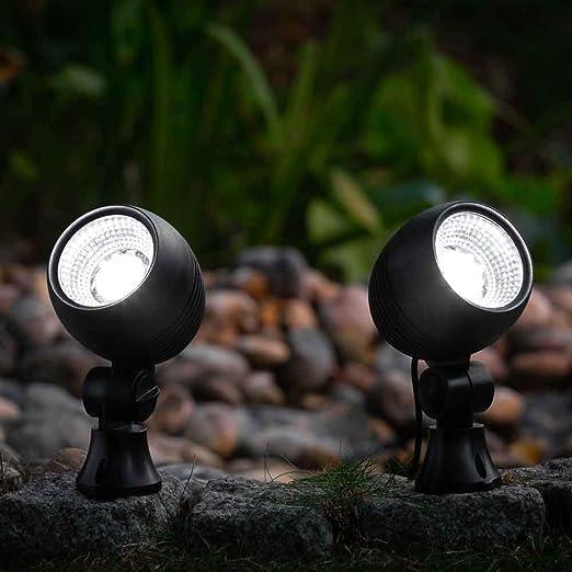 Solarcentre Globe al aire libre Funciona con energía solar Jardín Focos (Juego de 2): Amazon.es: Iluminación