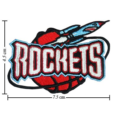 Houston Rockets Style-2 Embroidered Iron On Patch