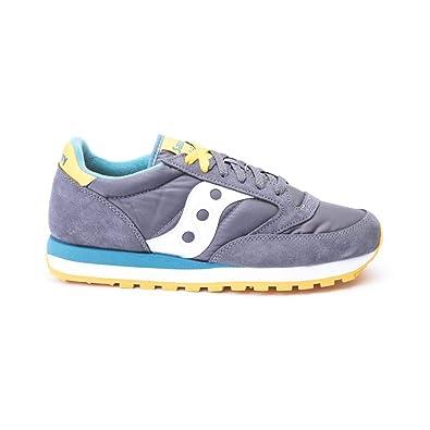 Scarpe Saucony Sneakers Jazz in Camoscio e Nylon 10,5 JAZZ