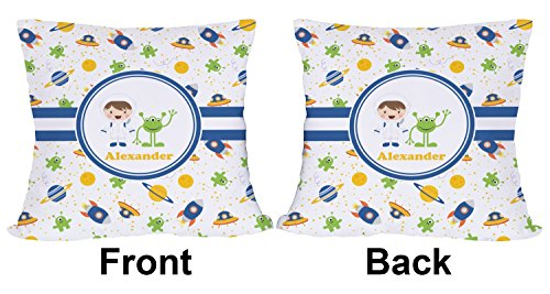 """Mom Innovations Boy's Space Themed Outdoor Pillow - 18"""" (..."""