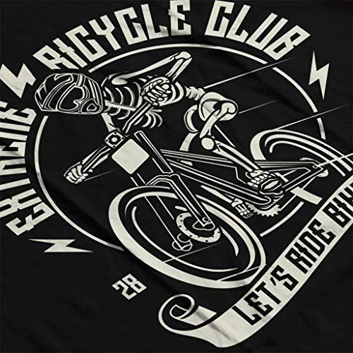 Sweatshirt Bicycle Black Club Extreme Women's Hooded F1SBdWn