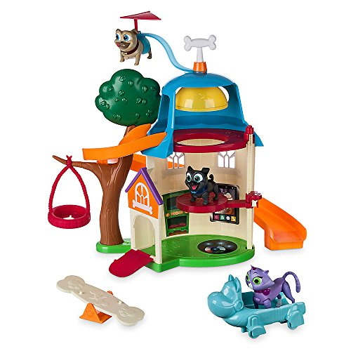 Disney Puppy Dog Pals Ultimate Doghouse Playset with Light-Up Figures