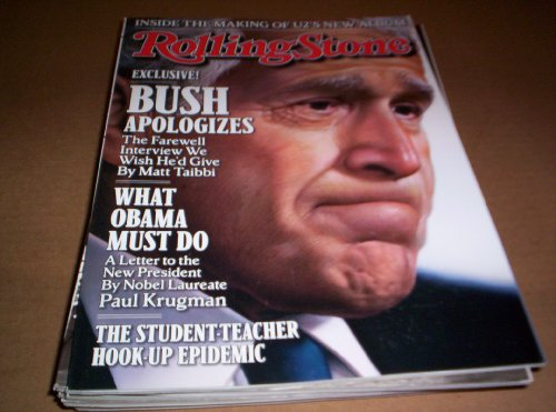 GEORGE BUSH / ROLLING STONE / THE FAREWELL INTERVIEW (GEORGE BUSH ROLLING STONE JANUARY 2009) ()