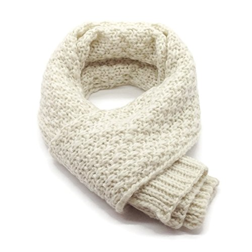 HappyTree Kids Hot Fashion Classic Thick Knitted Winter Warm Scarf Unisex Toddler Cowl Soft Shawl