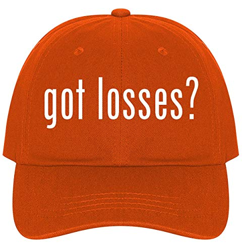 The Town Butler got Losses? - A Nice Comfortable Adjustable Dad Hat Cap, Orange, One Size