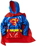 Western Chief Little Boys' Superman Rain Coat, Red, 5/6