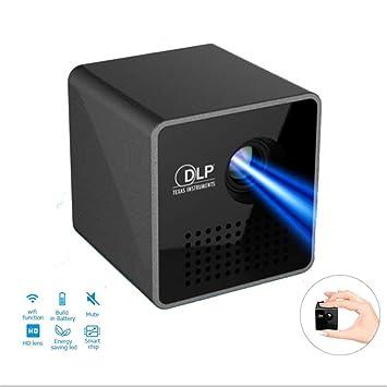 Mini proyector WiFi, Micro Proyector de Bolsillo, Soporte Miracast ...