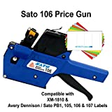 Sato Price Guns (10): TSA106 (PB1-6) Bulk PRICING [1 Line / 6 Characters]